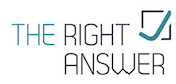 The Right Answer Logo
